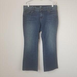 Loft | Petite Curvy Boot Jeans